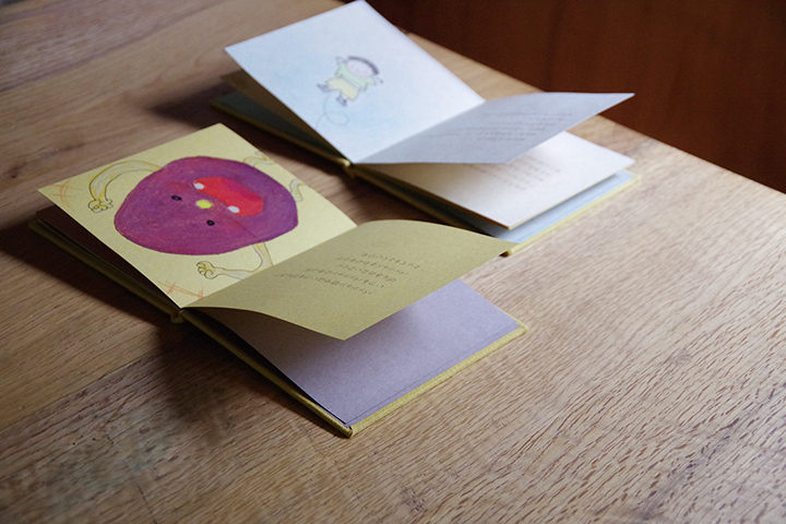 手製本でつくる絵本WS