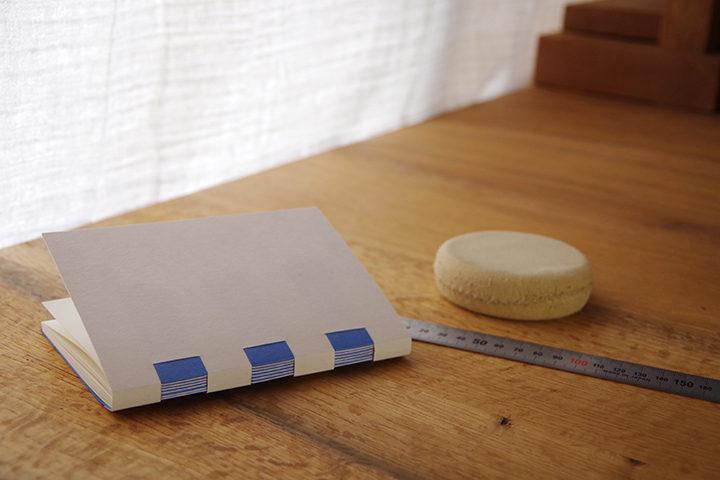手製本でつくる交差式製本ノート